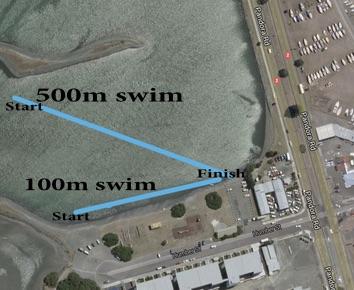 IRONMĀORI Kaumatua Napier Swim